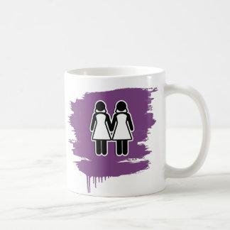 LESBIAN WEDDING TOPPER WOMEN - png Mugs