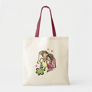 Lesbians in Love Tote Bags