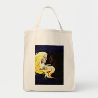 Lesbians in Space Canvas Bags