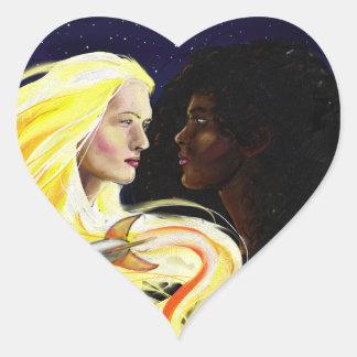 Lesbians in Space Sticker