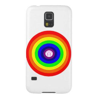 Lesbians Round Rainbow Samsung Galaxy Case