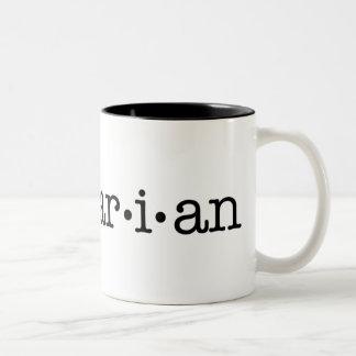 Lesbrarian Two-Tone Coffee Mug