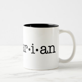 Lesbrarian Two-Tone Mug