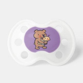 Leslie Patricelli Big Brown Bear Hug Pacifier