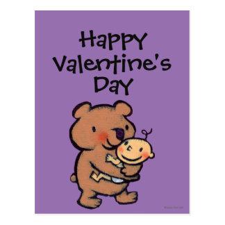 Leslie Patricelli Big Brown Bear Hug Postcard