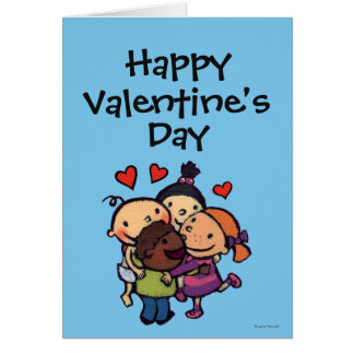 Leslie Patricelli Group Hug with Friends Card