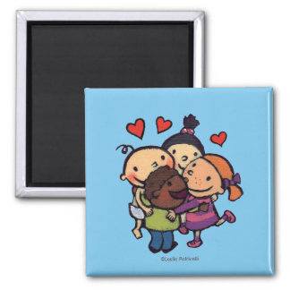 Leslie Patricelli Group Hug with Friends Magnet