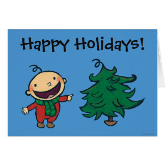Leslie Patricelli's Baby Chooses a Christmas Tree Card