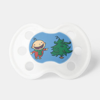 Leslie Patricelli's Baby Chooses a Christmas Tree Pacifiers