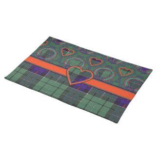 Leslie Scottish tartan Place Mats