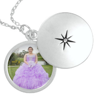 Leslie's Quinceanera Sterling Silver Locket
