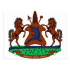 Lesotho Coat of Arms Postcard