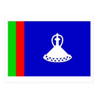 Lesotho Flag (1966-1987) Postcard