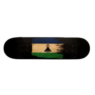 Lesotho Flag Custom Skateboard