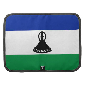 Lesotho Flag Folio Organizer