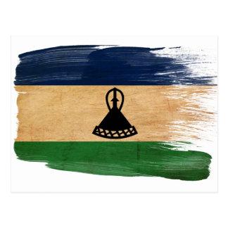 Lesotho Flag Postcards