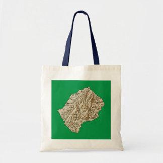 Lesotho Map Bag