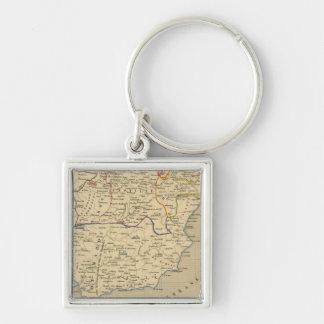 L'Espagne 1027 a 1212 Key Ring