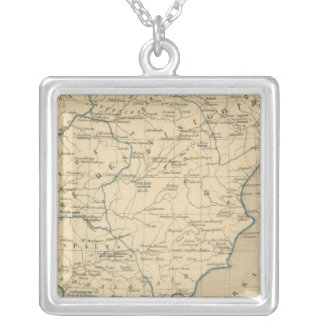 L'Espagne 585 a 756 Silver Plated Necklace