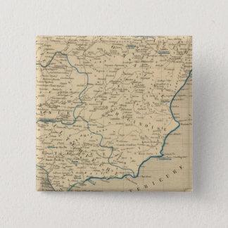 L'Espagne sous les Romains 409 ans apres JC 15 Cm Square Badge