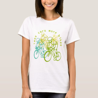 Less Cars More Bikes T-Shirt