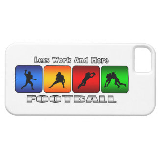 Less Work And More Football iPhone 5 Case