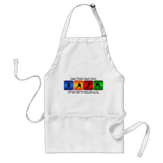 Less Work And More Football Standard Apron