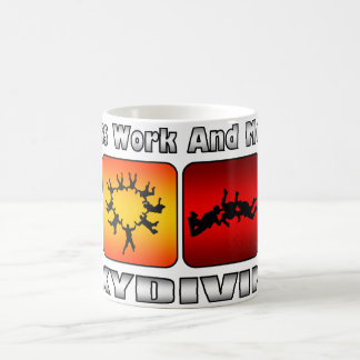 Less Work And More Skydiving Coffee Mug