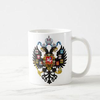 Lesser Coat of Arms of Russian Empire 1883 Basic White Mug