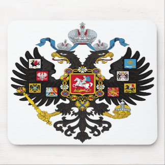 Lesser Coat of Arms of Russian Empire 1883 Mousepad