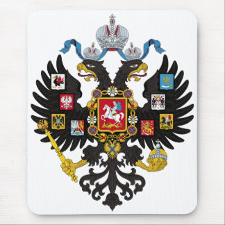 Lesser Coat of Arms of Russian Empire 1883 Mouse Pad