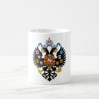 Lesser Coat of arms of Russian Empire Basic White Mug
