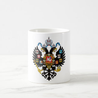 Lesser Coat of arms of Russian Empire Mugs