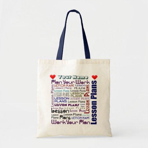 Lesson Plan Pouch Tote Bag