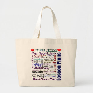 Lesson Plan Pouch Jumbo Tote Bag