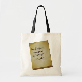 Lesson Plan Tote Bags