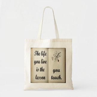 Lesson You Teach Tote Bag
