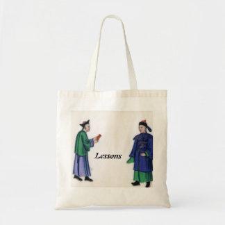 'Lessons' Canvas Bag