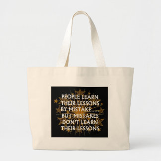 Lessons & Mistakes.jpg Canvas Bag