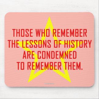 Lessons Of History (3) mousepad, horizontal Mouse Mat