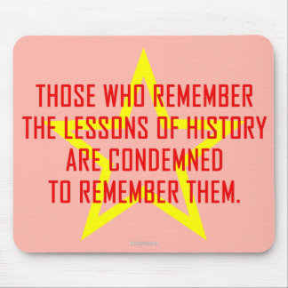 Lessons Of History (3) mousepad, horizontal Mouse Pad