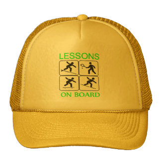 Lessons on board Hat