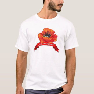 Lest Remembrance Day T-Shirts