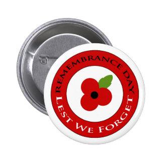 Lest we forget - Badge