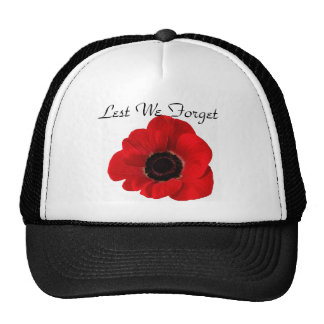 Lest We Forget Cap