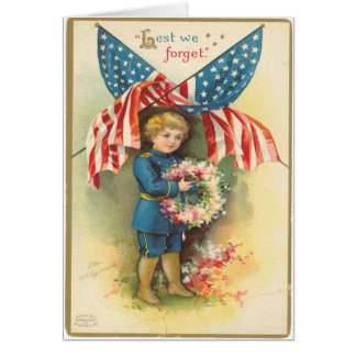 Lest We Forget Greeting Cards