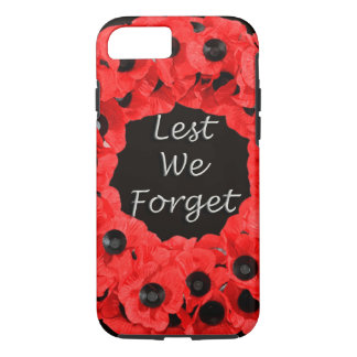 Lest We Forget (Poppy Wreath) iPhone 7 Case