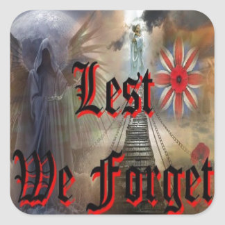 Lest We Forget Stickers