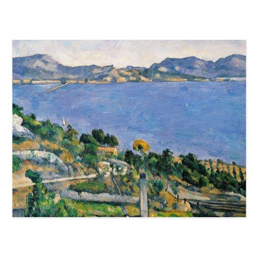 L'Estaque, View of the Bay of Marseilles Post Card