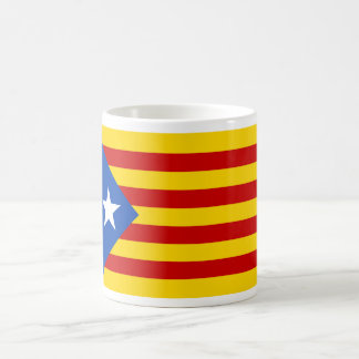 """L'Estelada Blava"" Catalan Independence Flag Basic White Mug"